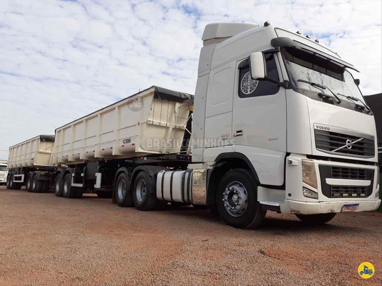 CAMINHAO VOLVO VOLVO FH 540 Caçamba Basculante Traçado 6x4 Brasil Caminhões Sinop SINOP MATO GROSSO MT