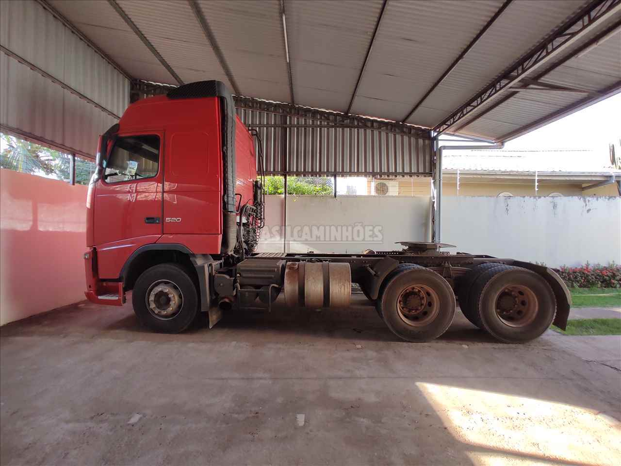 CAMINHAO VOLVO VOLVO FH 520 Cavalo Mecânico Traçado 6x4 Brasil Caminhões Sinop SINOP MATO GROSSO MT