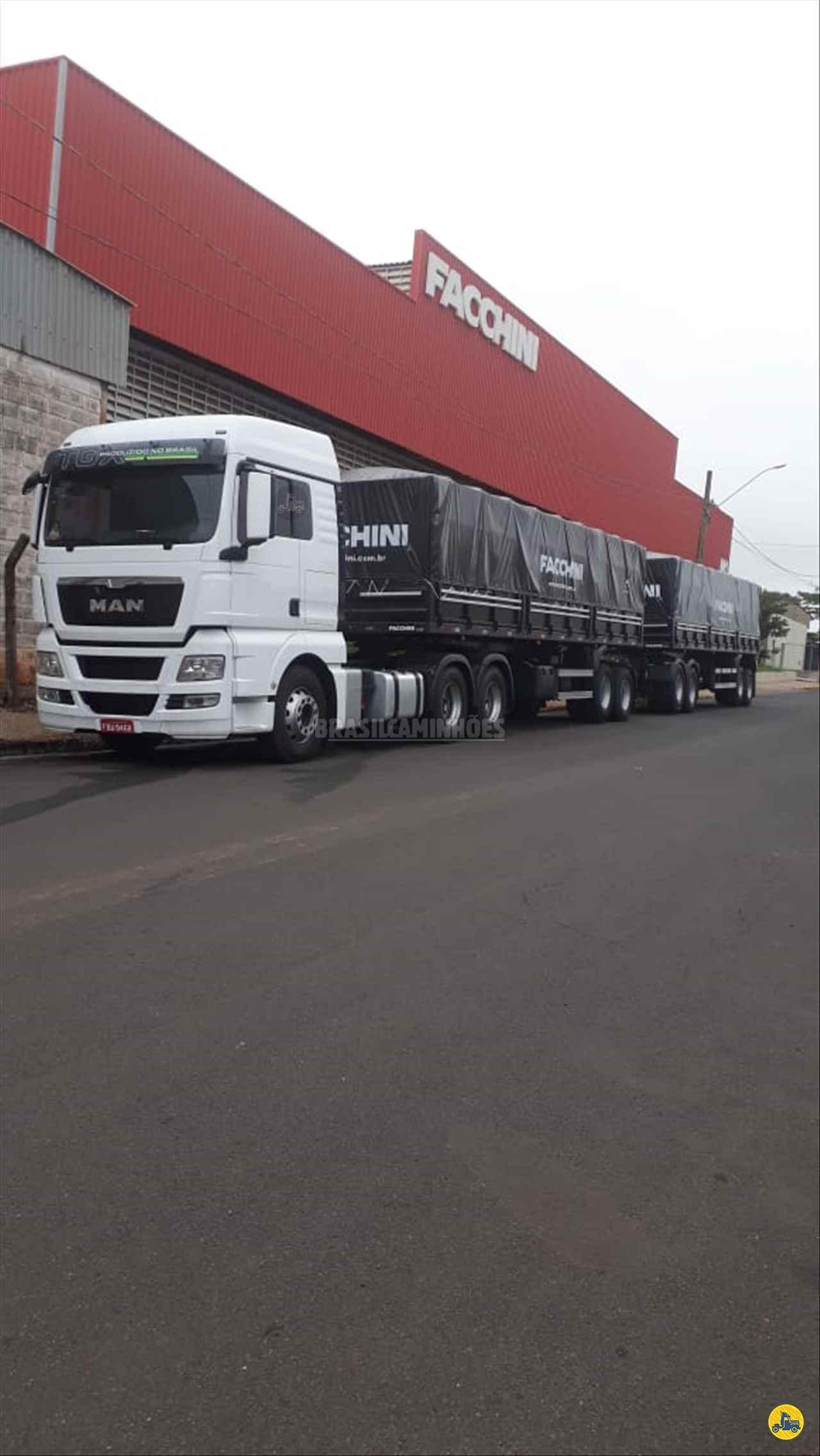 CAMINHAO MAN TGX 29 440 Carga Seca Traçado 6x4 Brasil Caminhões Sinop SINOP MATO GROSSO MT