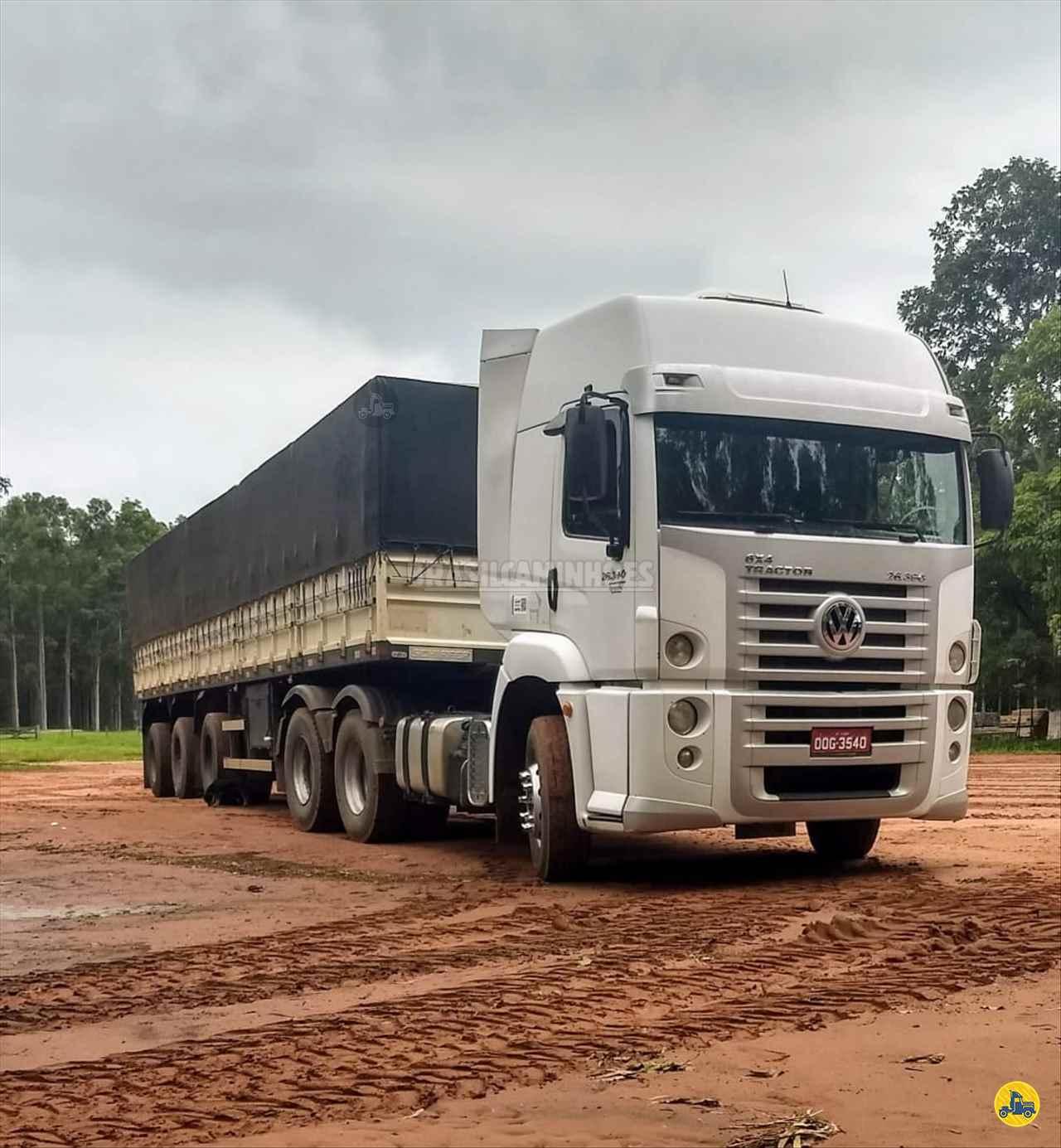 CAMINHAO VOLKSWAGEN VW 26390 Cavalo Mecânico Traçado 6x4 Brasil Caminhões Sinop SINOP MATO GROSSO MT