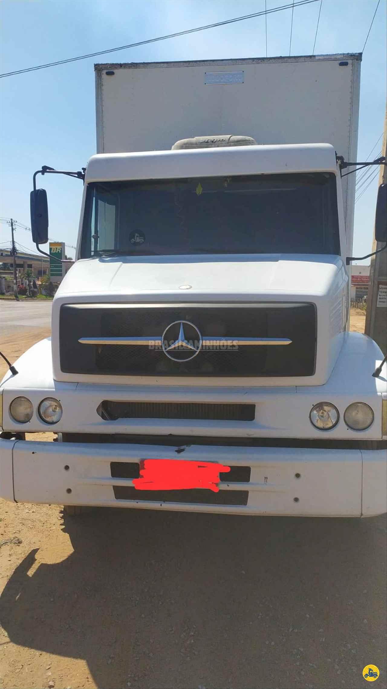 CAMINHAO MERCEDES-BENZ MB 1620 Baú Furgão Truck 6x2 Brasil Caminhões Sinop SINOP MATO GROSSO MT