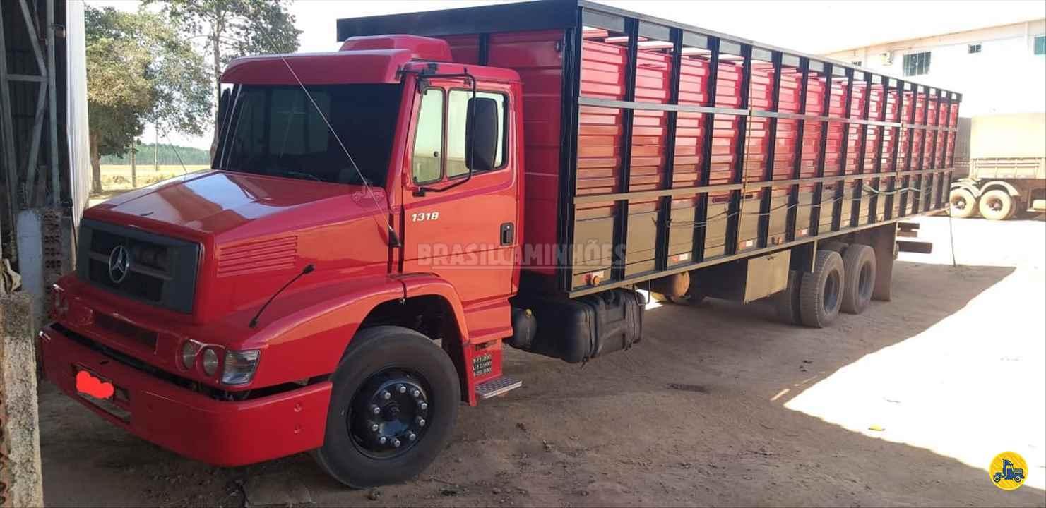 CAMINHAO MERCEDES-BENZ MB 1318 Boiadeiro Truck 6x2 Brasil Caminhões Sinop SINOP MATO GROSSO MT