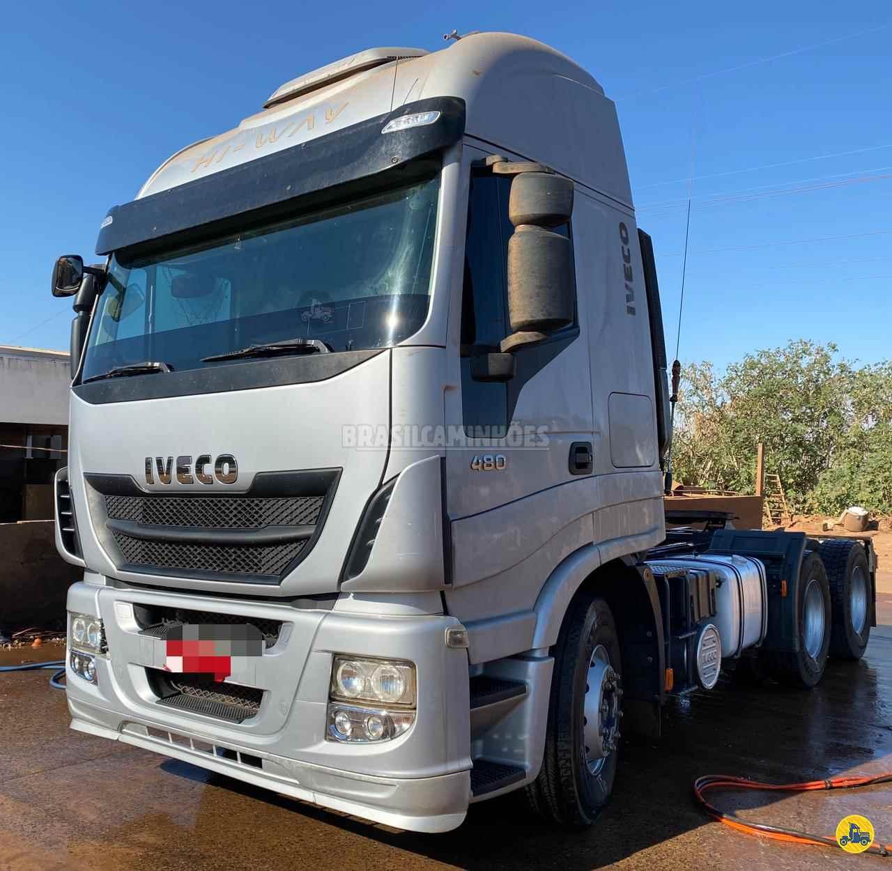 CAMINHAO IVECO STRALIS 460 Cavalo Mecânico Traçado 6x4 Brasil Caminhões Sinop SINOP MATO GROSSO MT