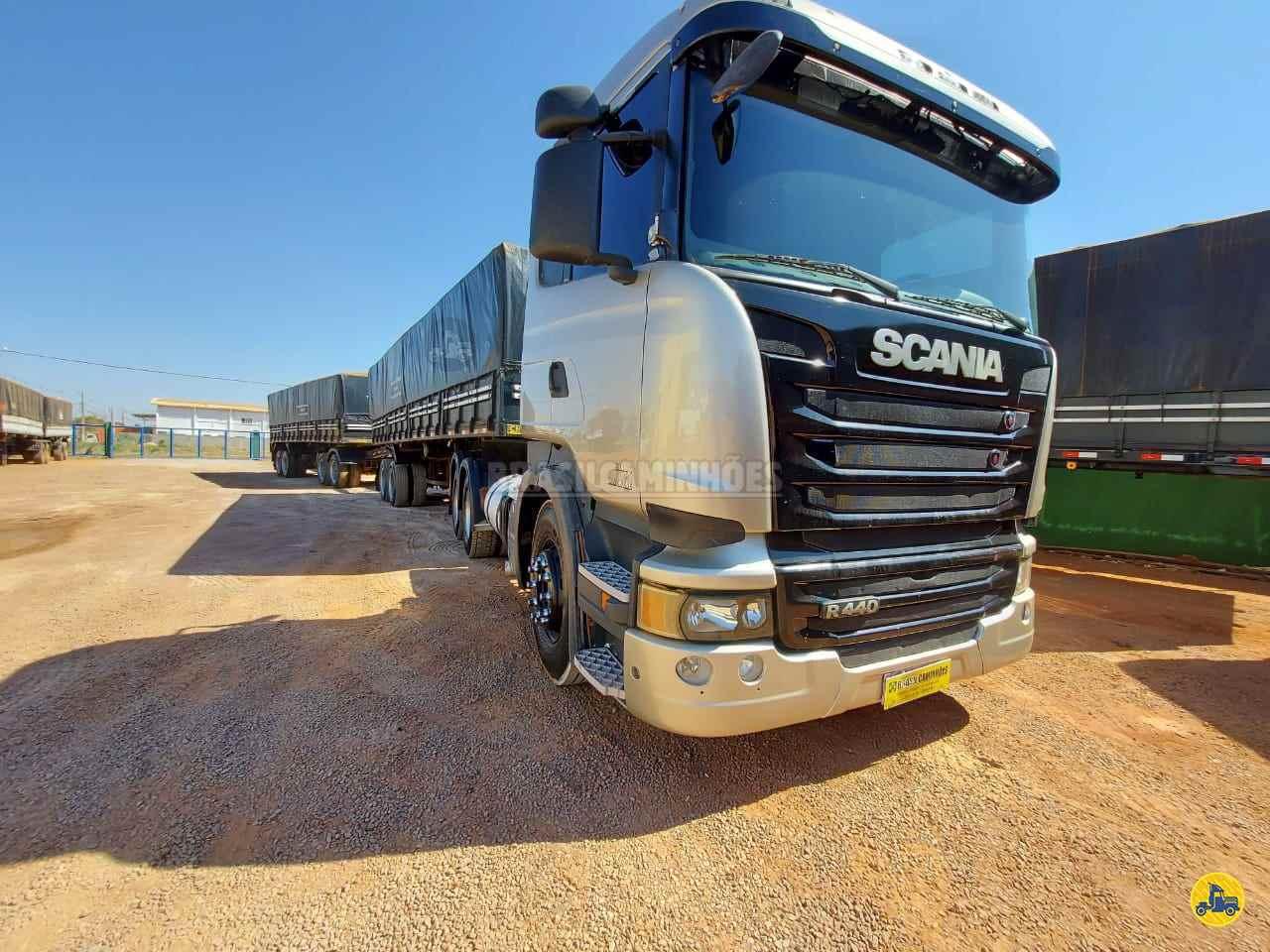 CAMINHAO SCANIA SCANIA 440 Graneleiro Traçado 6x4 Brasil Caminhões Sinop SINOP MATO GROSSO MT