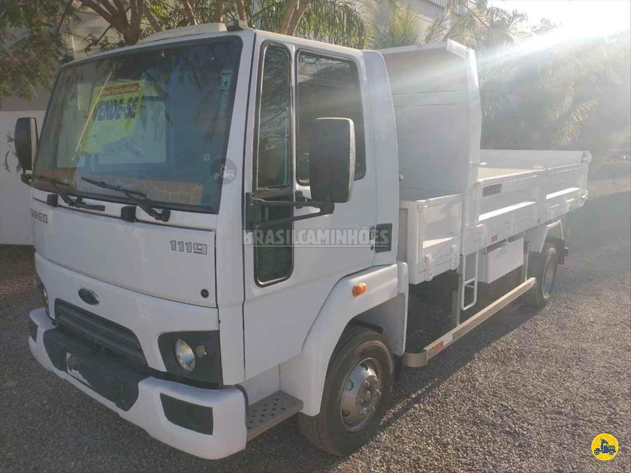 CAMINHAO FORD CARGO 1119 Caçamba Cabine Suplementar Toco 4x2 Brasil Caminhões Sinop SINOP MATO GROSSO MT