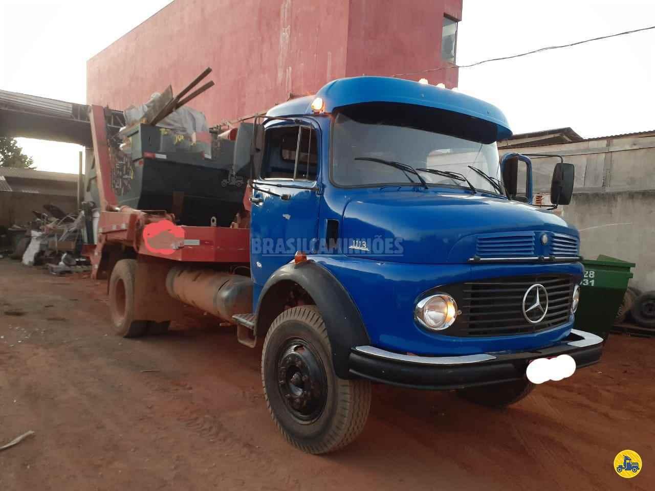 CAMINHAO MERCEDES-BENZ MB 1113 Caçamba Basculante Toco 4x2 Brasil Caminhões Sinop SINOP MATO GROSSO MT