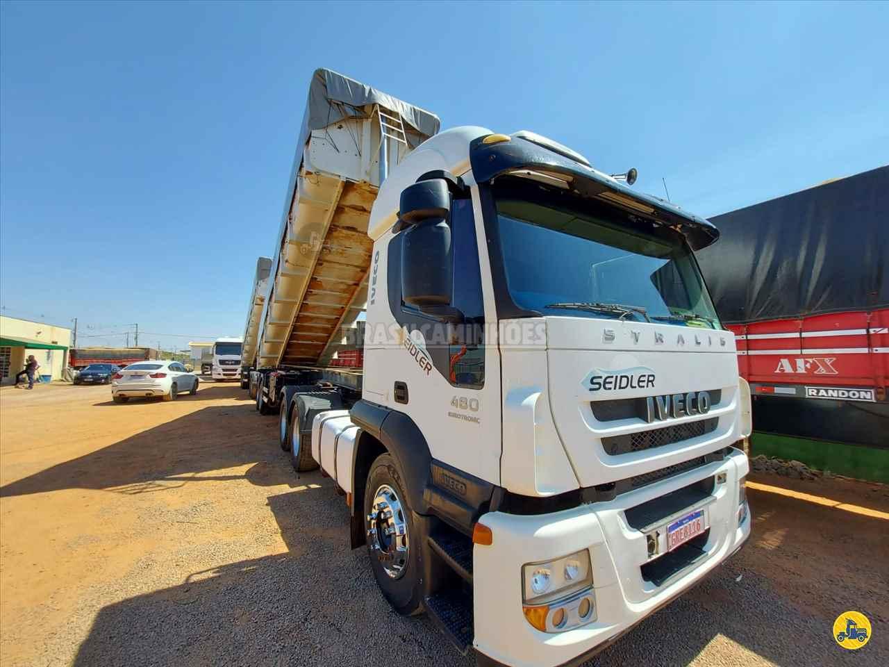 CAMINHAO IVECO STRALIS 480 Caçamba Basculante Traçado 6x4 Brasil Caminhões Sinop SINOP MATO GROSSO MT