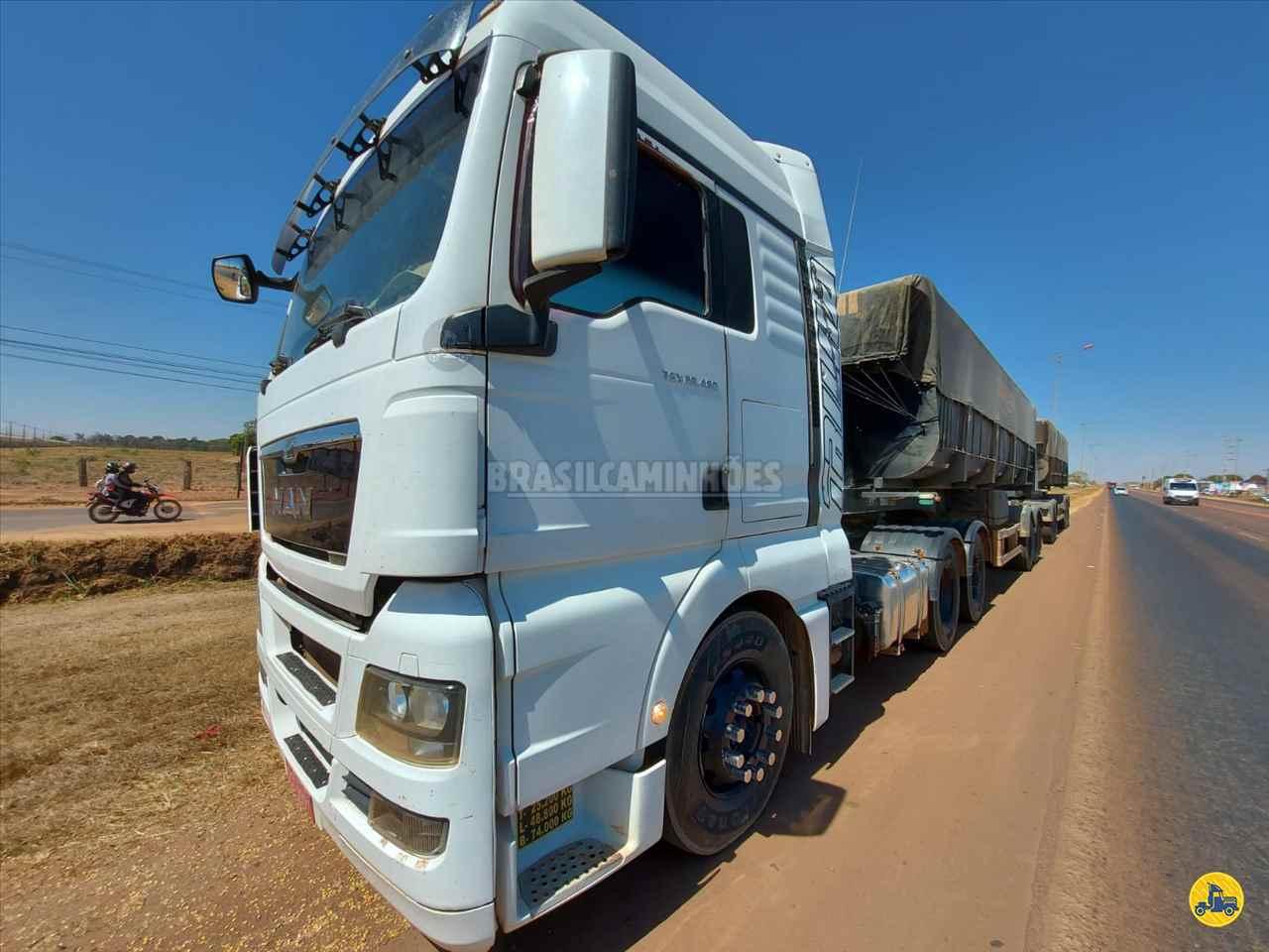 CAMINHAO MAN TGX 29 480 Caçamba Basculante Traçado 6x4 Brasil Caminhões Sinop SINOP MATO GROSSO MT