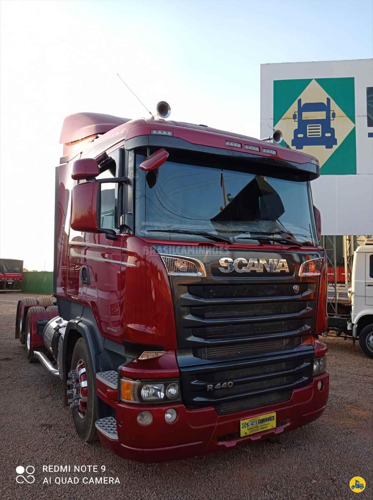 CAMINHAO SCANIA SCANIA 440 Cavalo Mecânico Truck 6x2 Brasil Caminhões Sinop SINOP MATO GROSSO MT
