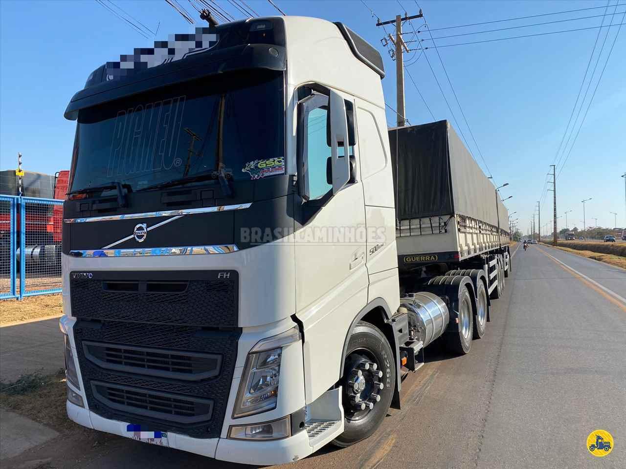 CAMINHAO VOLVO VOLVO FH 500 Graneleiro Traçado 6x4 Brasil Caminhões Sinop SINOP MATO GROSSO MT