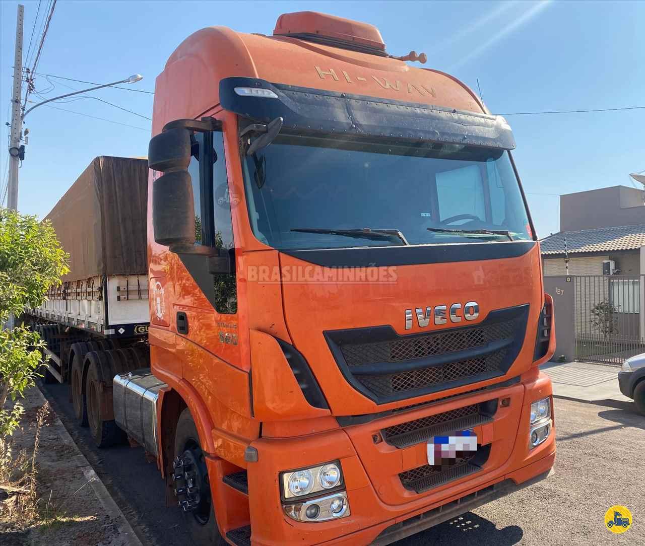 CAMINHAO IVECO STRALIS 560 Graneleiro Traçado 6x4 Brasil Caminhões Sinop SINOP MATO GROSSO MT