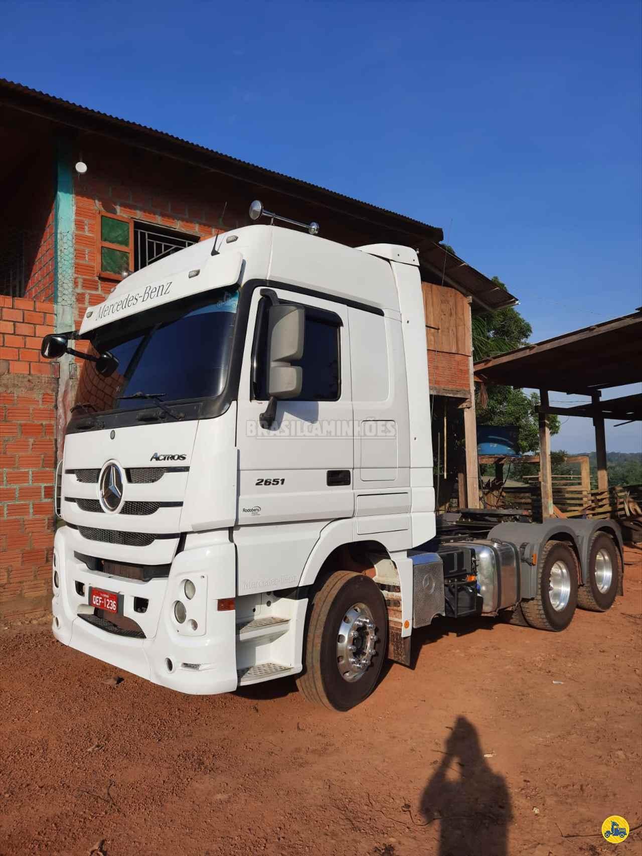 CAMINHAO MERCEDES-BENZ MB 2651 Graneleiro Traçado 6x4 Brasil Caminhões Sinop SINOP MATO GROSSO MT