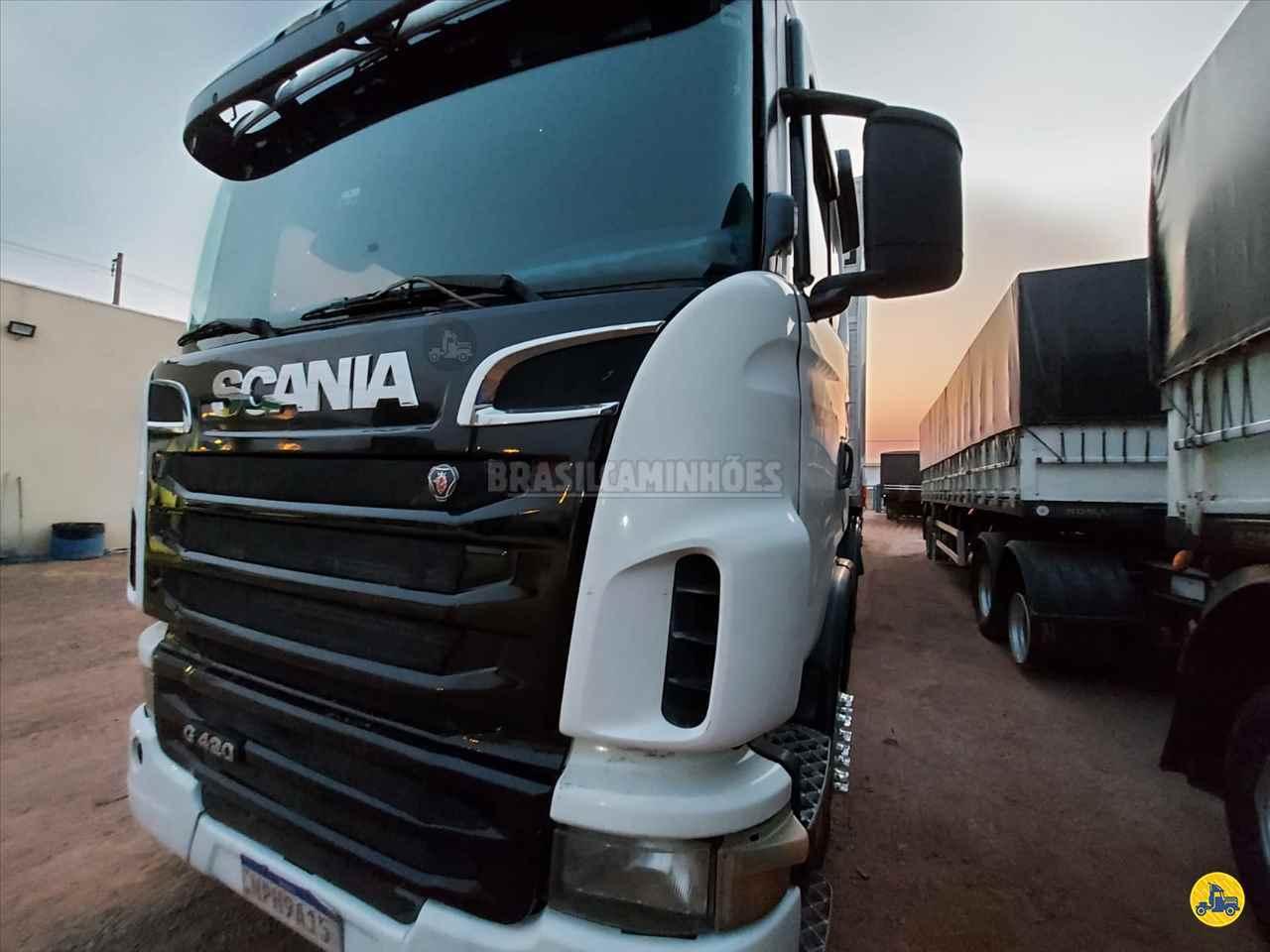 CAMINHAO SCANIA SCANIA 420 Baú Frigorífico Truck 6x2 Brasil Caminhões Sinop SINOP MATO GROSSO MT