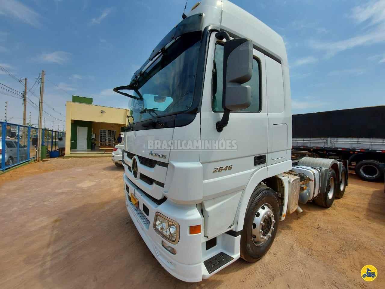 CAMINHAO MERCEDES-BENZ MB 2646 Cavalo Mecânico Traçado 6x4 Brasil Caminhões Sinop SINOP MATO GROSSO MT