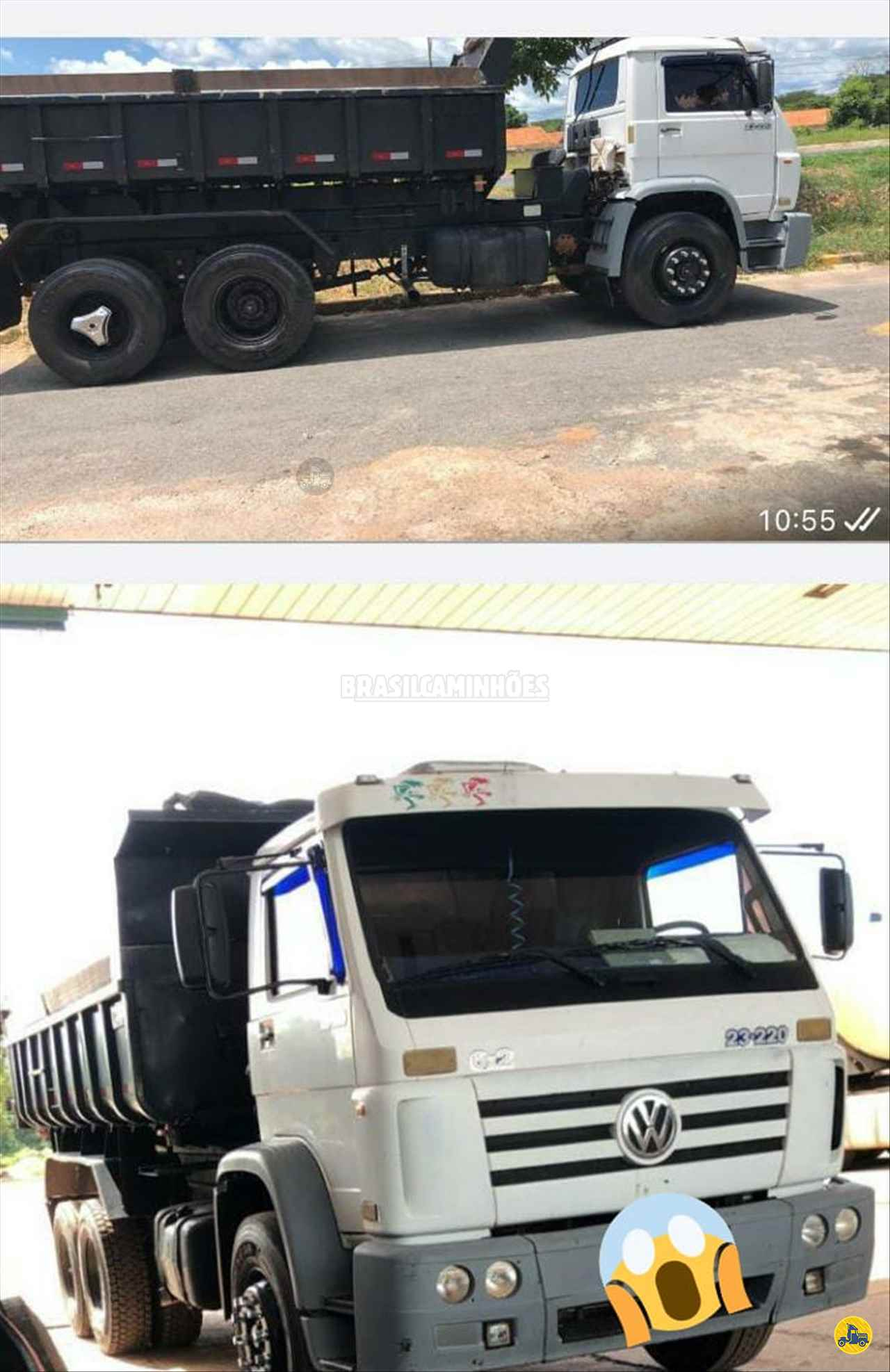 CAMINHAO VOLKSWAGEN VW 23220 Caçamba Basculante Truck 6x2 Brasil Caminhões Sinop SINOP MATO GROSSO MT