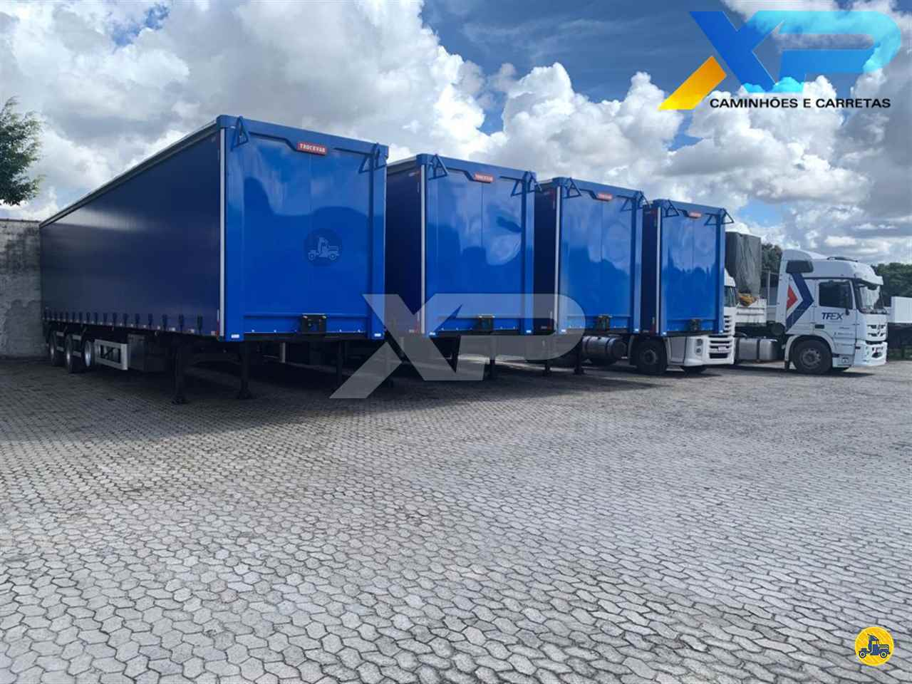 CARRETA SEMI-REBOQUE BAU SIDER Rebaixada XP Caminhões SERRA ESPÍRITO SANTO ES