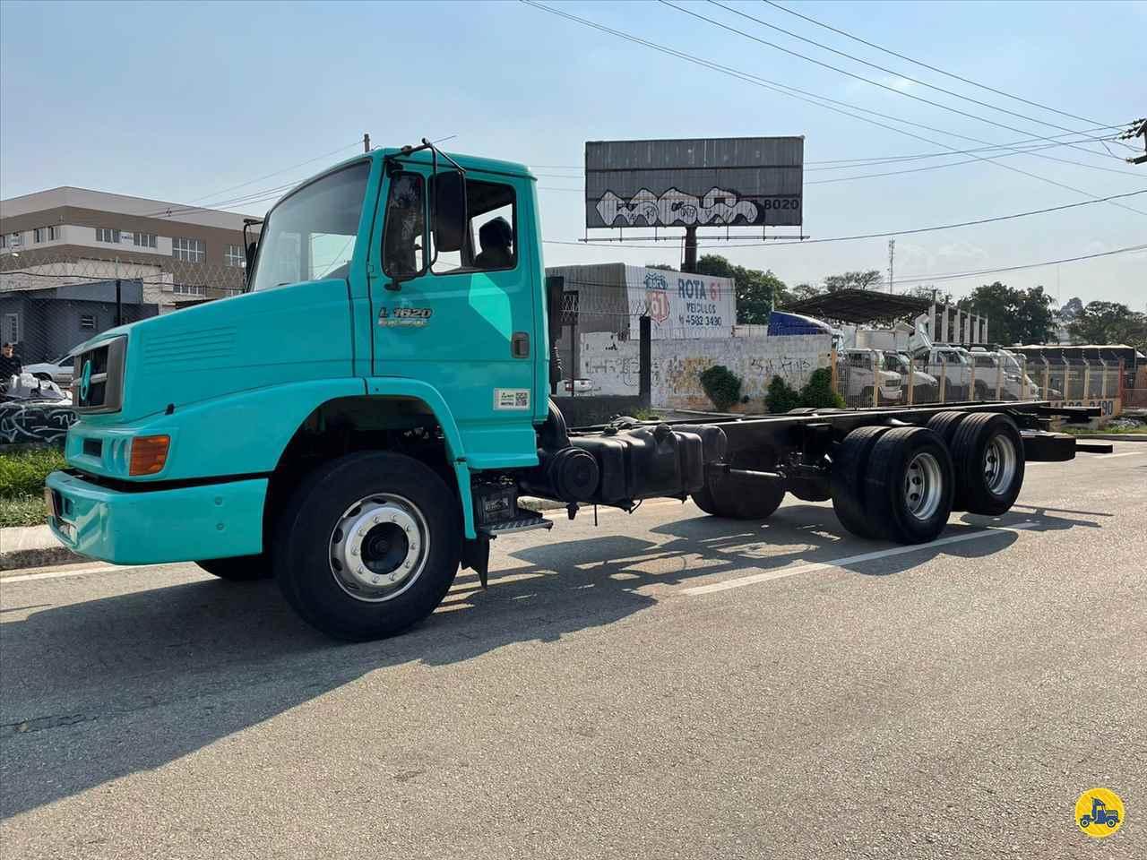 CAMINHAO MERCEDES-BENZ MB 1620 Chassis Truck 6x2 Rota 61 Veículos JUNDIAI SÃO PAULO SP