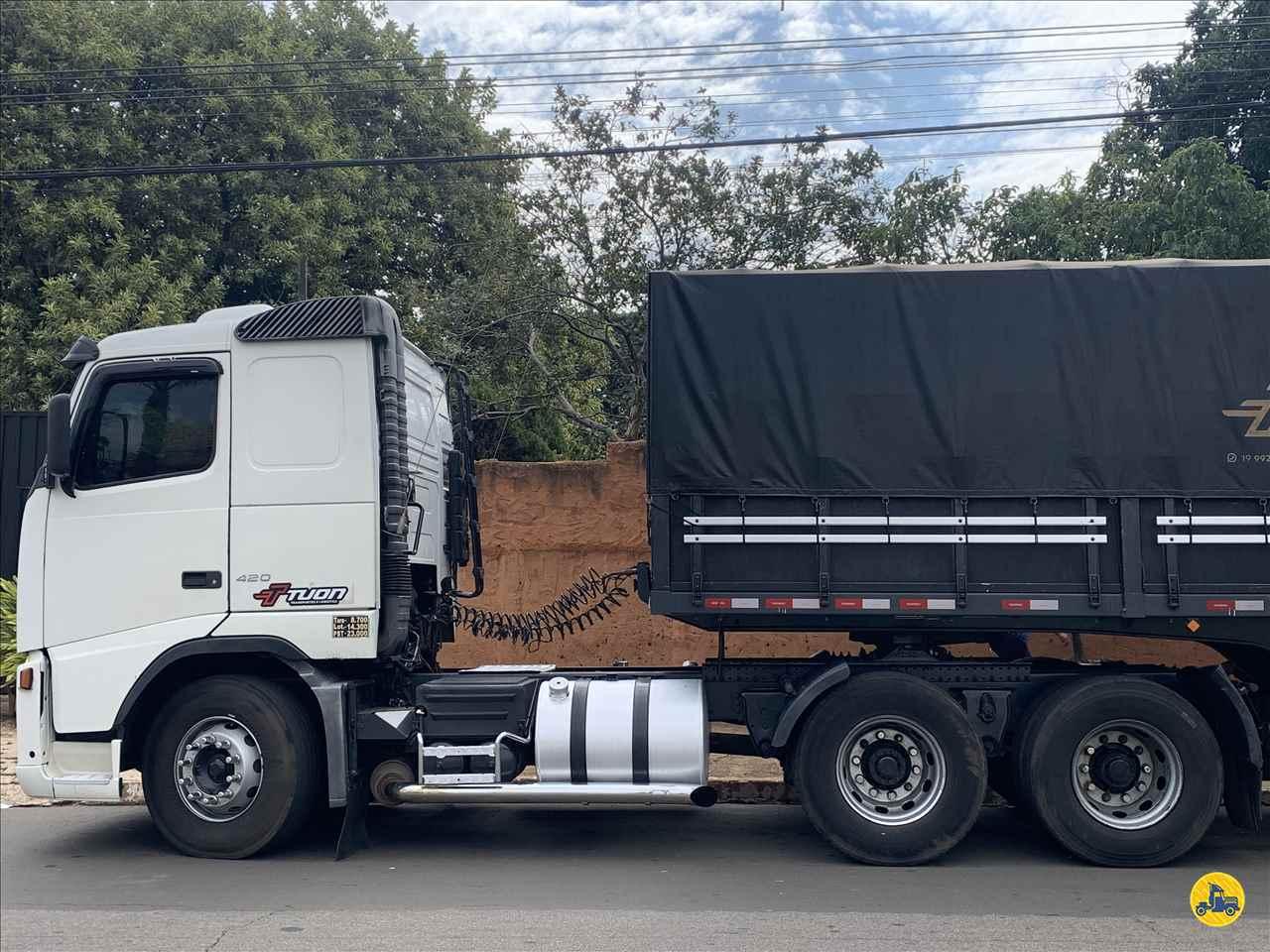 VOLVO FH 420 de Transportadora Tuon - PIRASSUNUNGA/SP