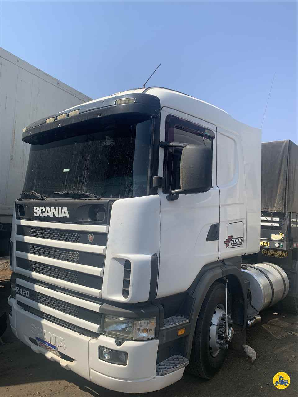 CAMINHAO SCANIA SCANIA 124 420 Cavalo Mecânico Truck 6x2 Transportadora Tuon PIRASSUNUNGA SÃO PAULO SP