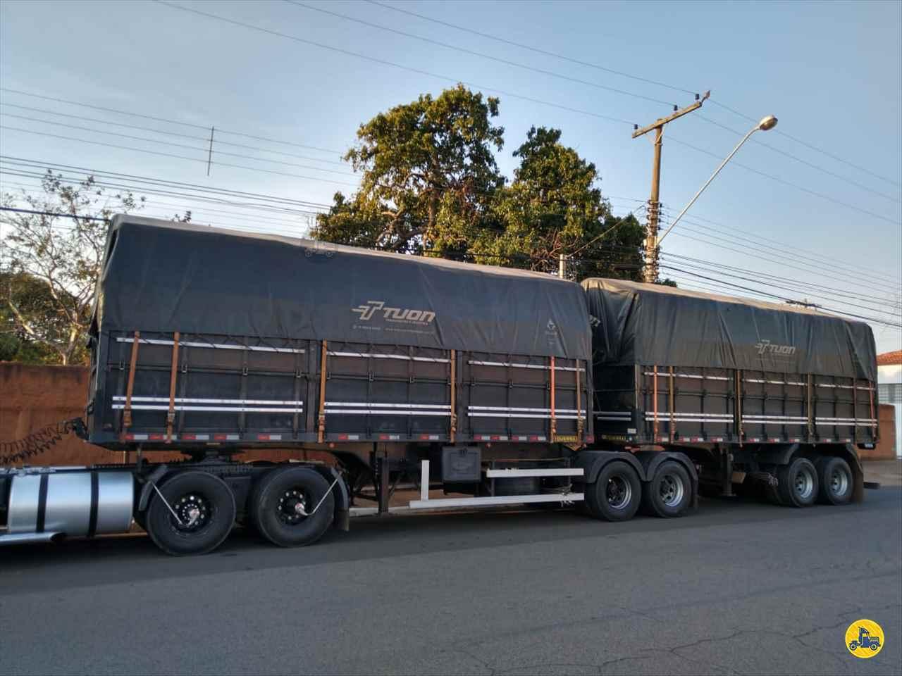 CARRETA BITREM GRANELEIRO Transportadora Tuon PIRASSUNUNGA SÃO PAULO SP