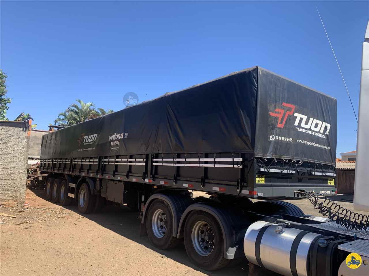 CARRETA SEMI-REBOQUE GRANELEIRO Transportadora Tuon PIRASSUNUNGA SÃO PAULO SP