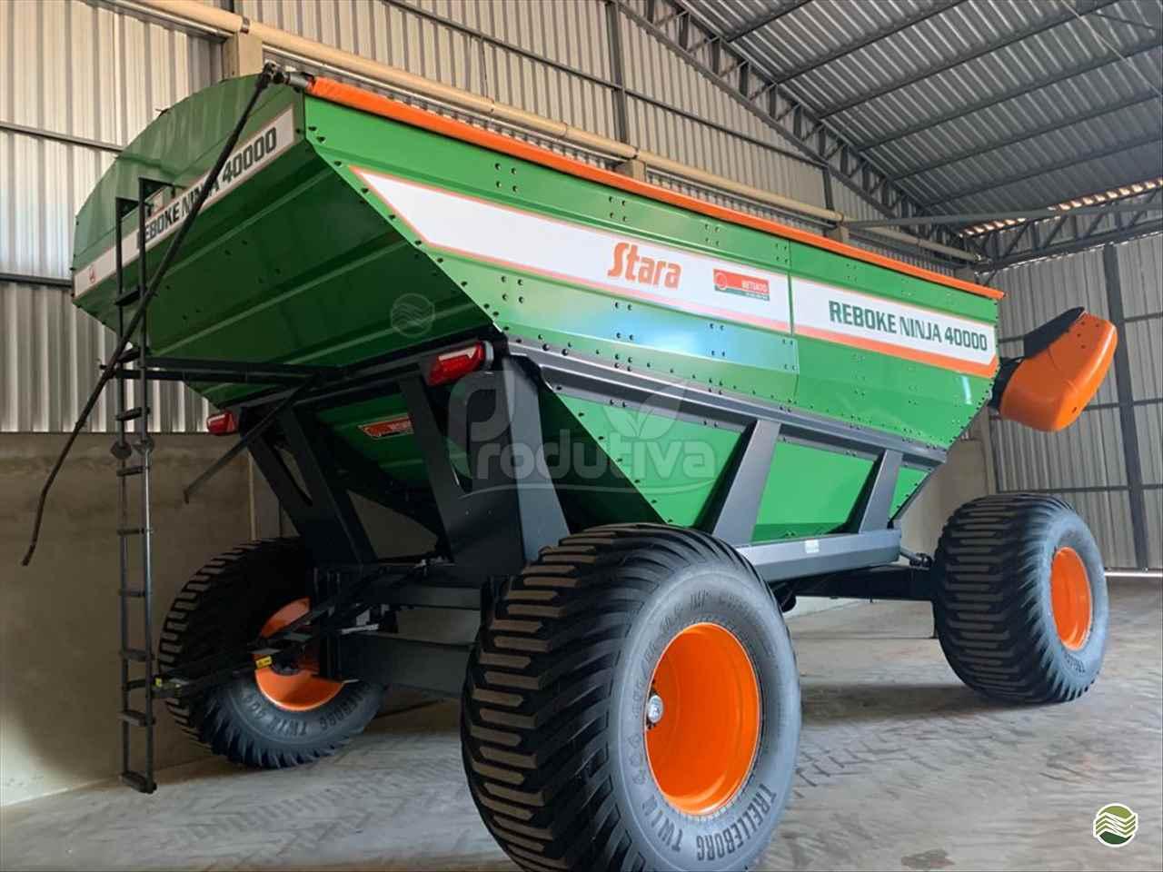 IMPLEMENTOS AGRICOLAS CARRETA BAZUKA GRANELEIRA 40000 Produtiva Máquinas CAMPO VERDE MATO GROSSO MT