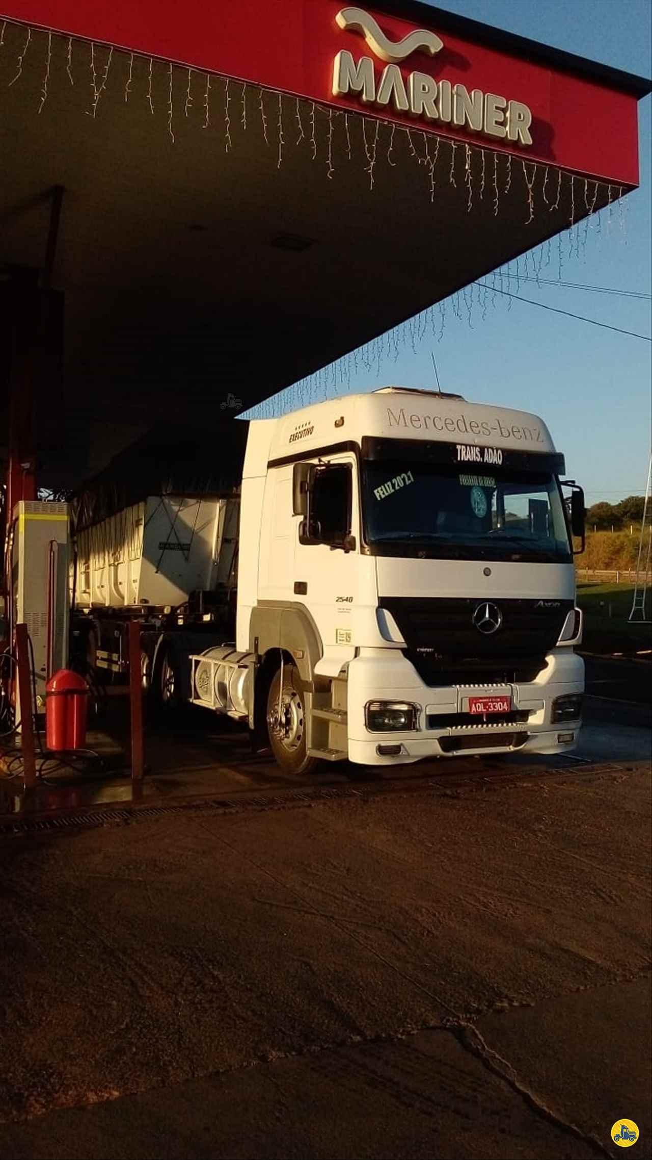 CAMINHAO MERCEDES-BENZ MB 2540 Cavalo Mecânico Truck 6x2 Cotral Caminhões SERRA DO SALITRE MINAS GERAIS MG
