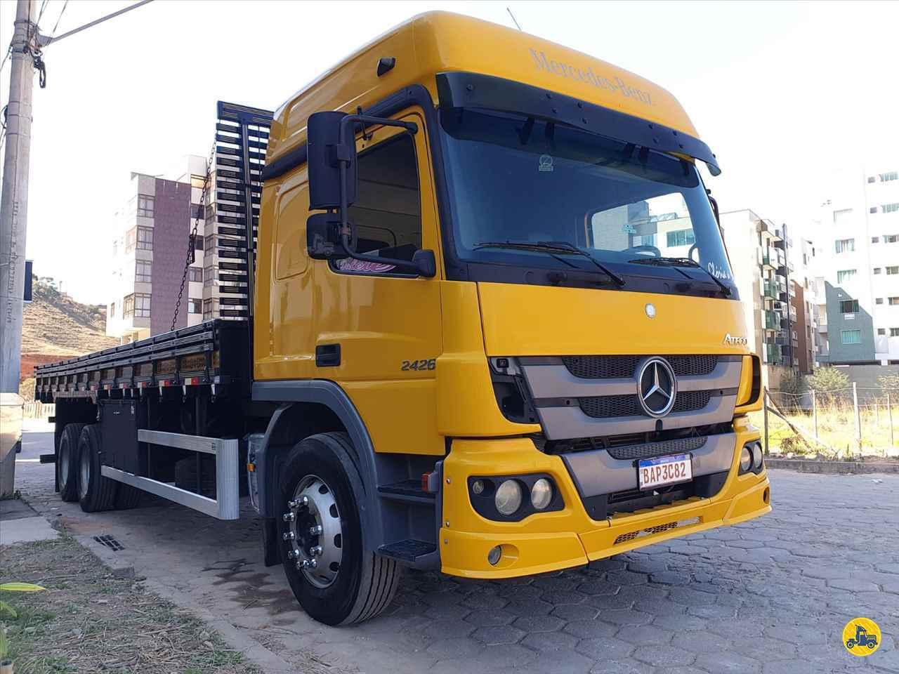 CAMINHAO MERCEDES-BENZ MB 2426 Carga Seca Truck 6x2 Cotral Caminhões SERRA DO SALITRE MINAS GERAIS MG