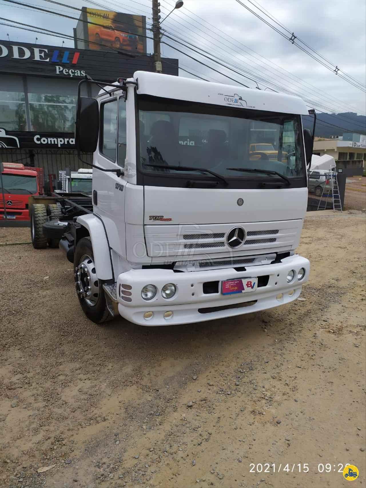 CAMINHAO MERCEDES-BENZ MB 1718 Chassis Toco 4x2 Odelli Utilitários RIO DO SUL SANTA CATARINA SC