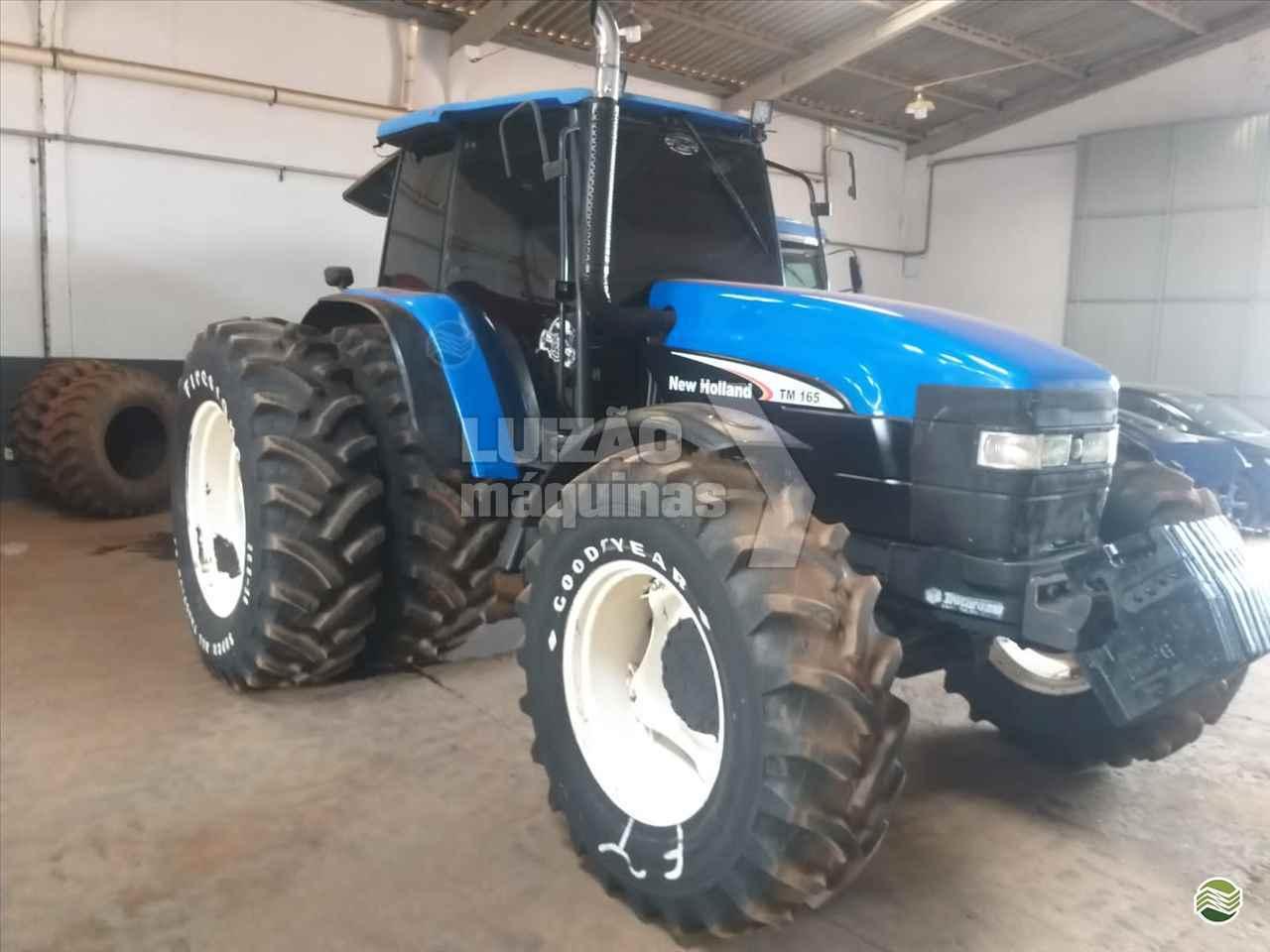 TRATOR NEW HOLLAND NEW TM 165 Tração 4x4 Luizão Máquinas Agrícolas UMUARAMA PARANÁ PR