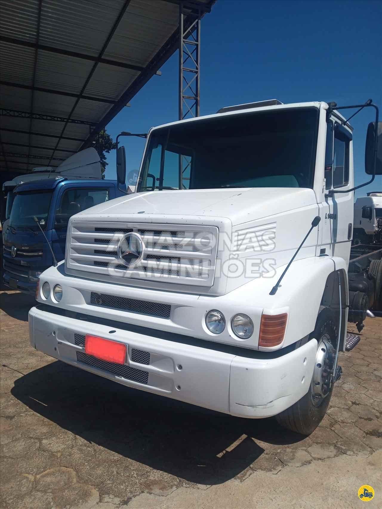 CAMINHAO MERCEDES-BENZ MB 1418 Chassis Truck 6x2 Amazonas Caminhões - SP MARILIA SÃO PAULO SP