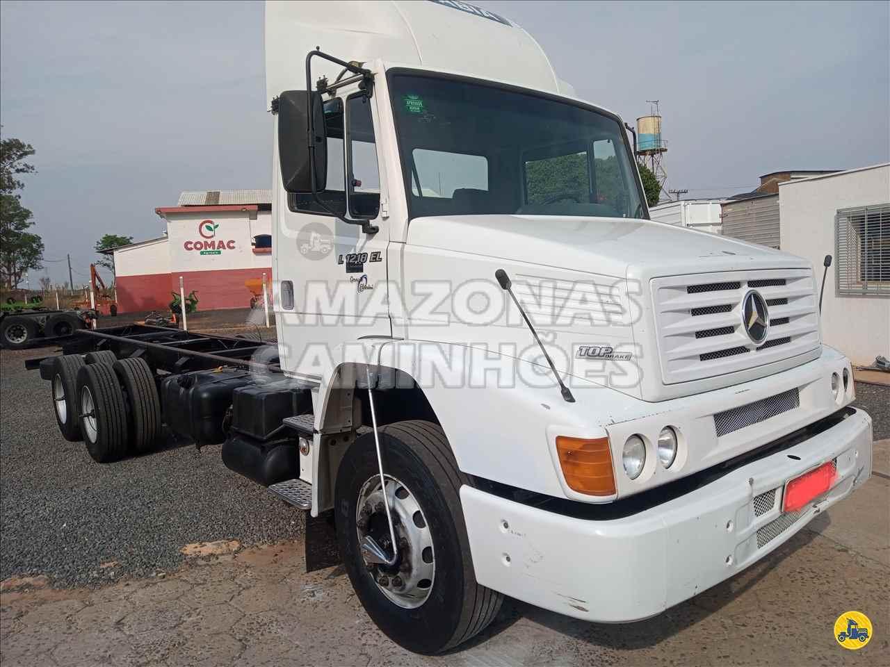 CAMINHAO MERCEDES-BENZ MB 1218 Chassis Truck 6x2 Amazonas Caminhões - SP MARILIA SÃO PAULO SP