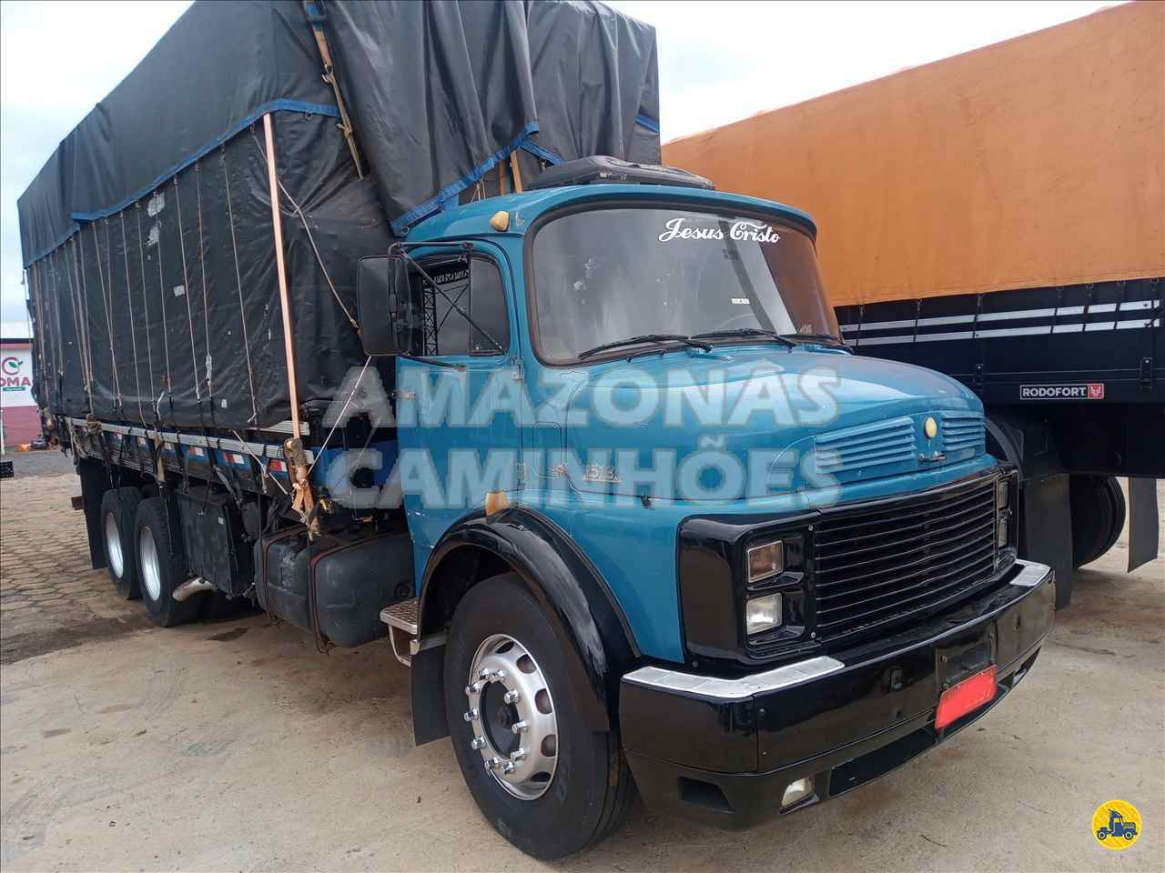 CAMINHAO MERCEDES-BENZ MB 1513 Graneleiro Truck 6x2 Amazonas Caminhões - SP MARILIA SÃO PAULO SP