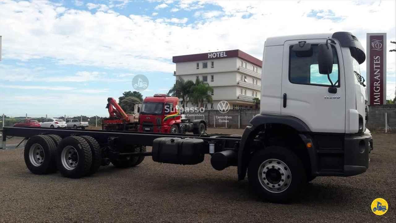 CAMINHAO VOLKSWAGEN VW 17280 Chassis Truck 6x2 Sulpasso Caminhões - VW MAN PASSO FUNDO RIO GRANDE DO SUL RS