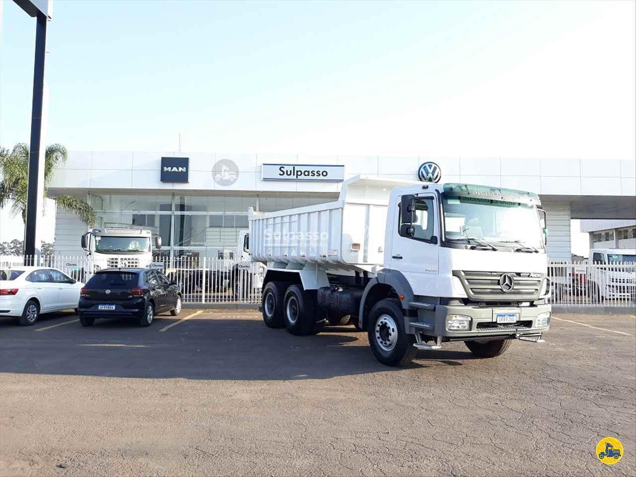 CAMINHAO MERCEDES-BENZ MB 2831 Chassis Traçado 6x4 Sulpasso Caminhões - VW MAN PASSO FUNDO RIO GRANDE DO SUL RS