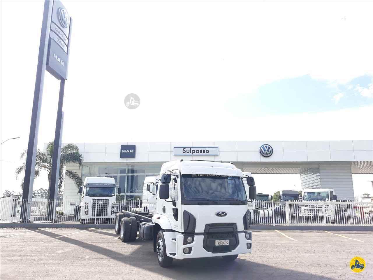 CAMINHAO FORD CARGO 2429 Chassis Truck 6x2 Sulpasso Caminhões - VW MAN PASSO FUNDO RIO GRANDE DO SUL RS