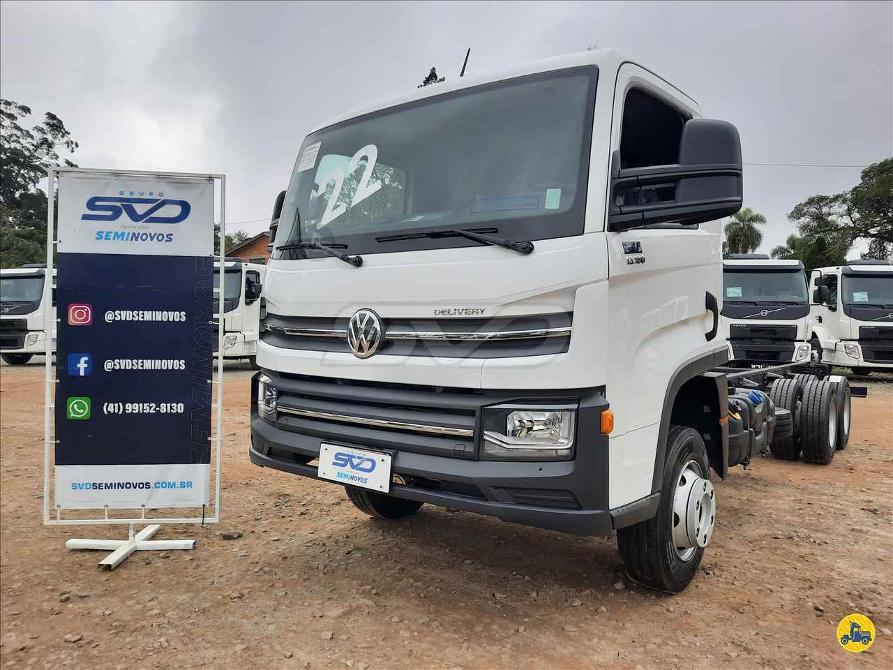 CAMINHAO VOLKSWAGEN VW 13180 Chassis Truck 6x2 SVD Seminovos CURITIBA PARANÁ PR