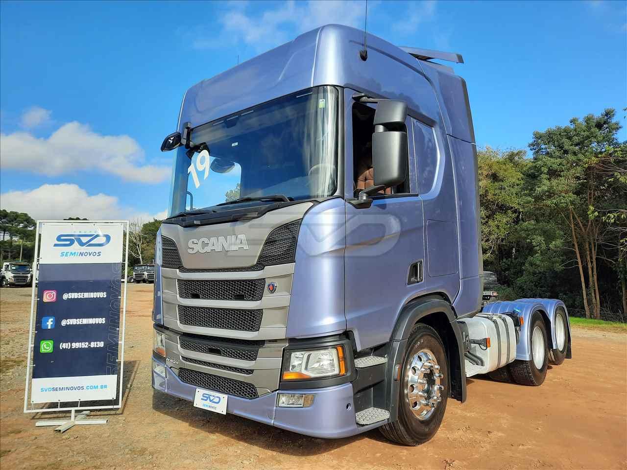 CAMINHAO SCANIA SCANIA 450 Cavalo Mecânico Truck 6x2 SVD Seminovos CURITIBA PARANÁ PR