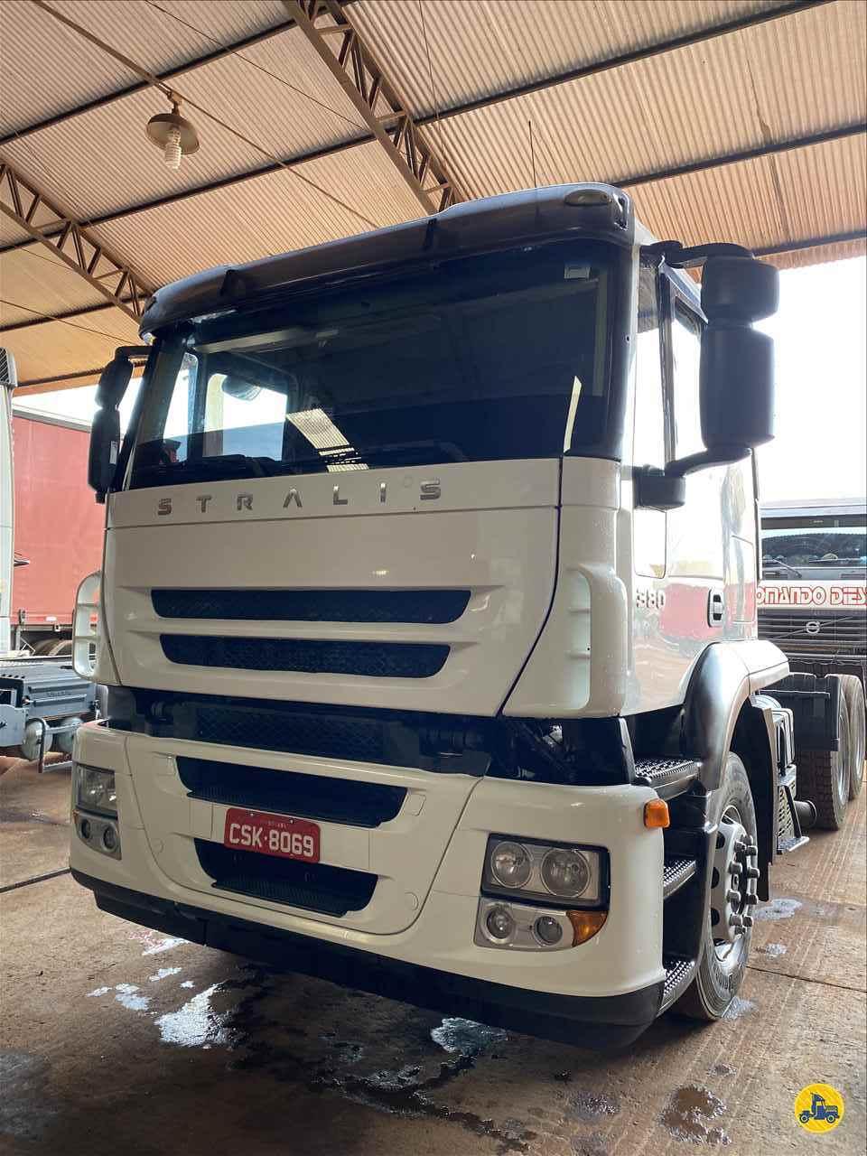 CAMINHAO IVECO STRALIS 380 Cavalo Mecânico Truck 6x2 Troca Frota RONDONOPOLIS MATO GROSSO MT