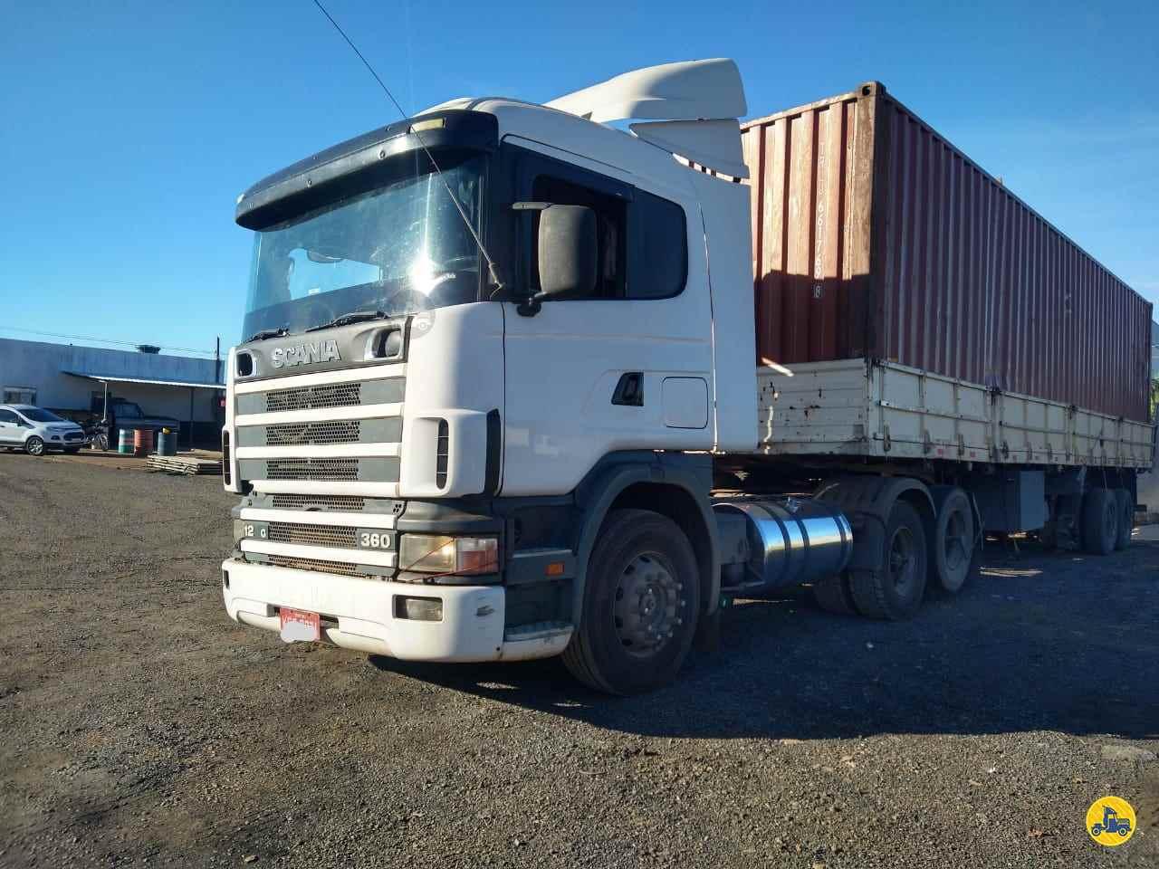 CAMINHAO SCANIA SCANIA 124 360 Cavalo Mecânico Truck 6x2 Diogo Caminhões ANAPOLIS GOIAS GO
