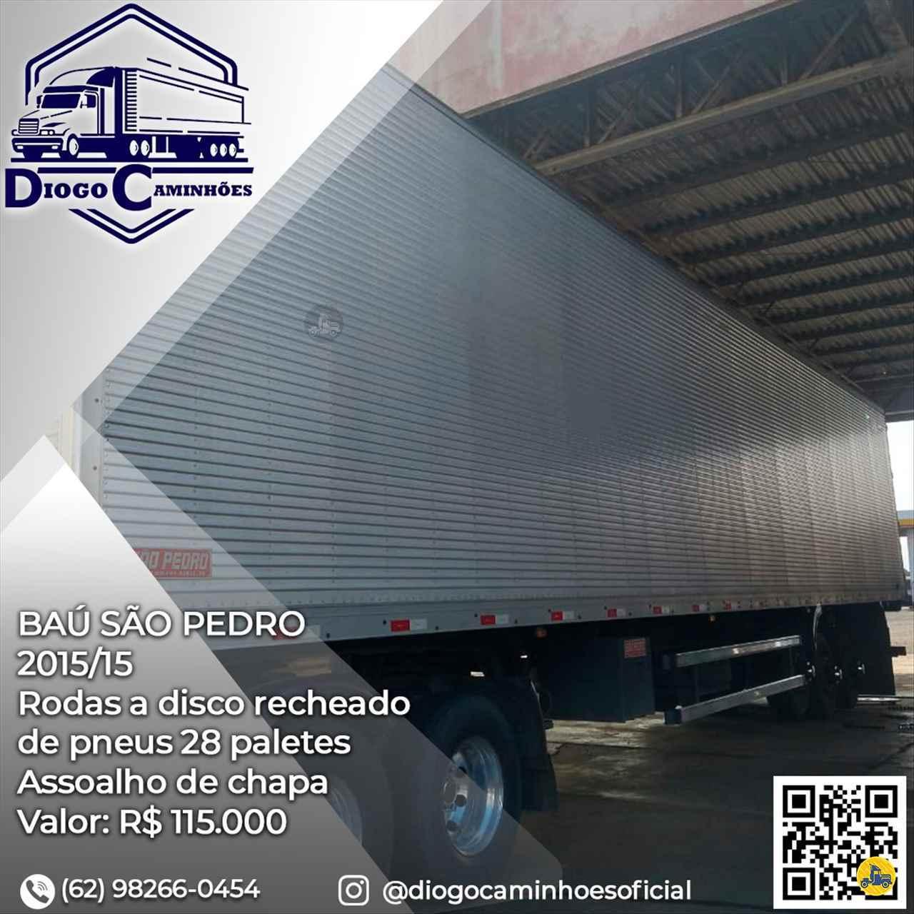 CARRETA SEMI-REBOQUE BAU FURGÃO Diogo Caminhões ANAPOLIS GOIAS GO