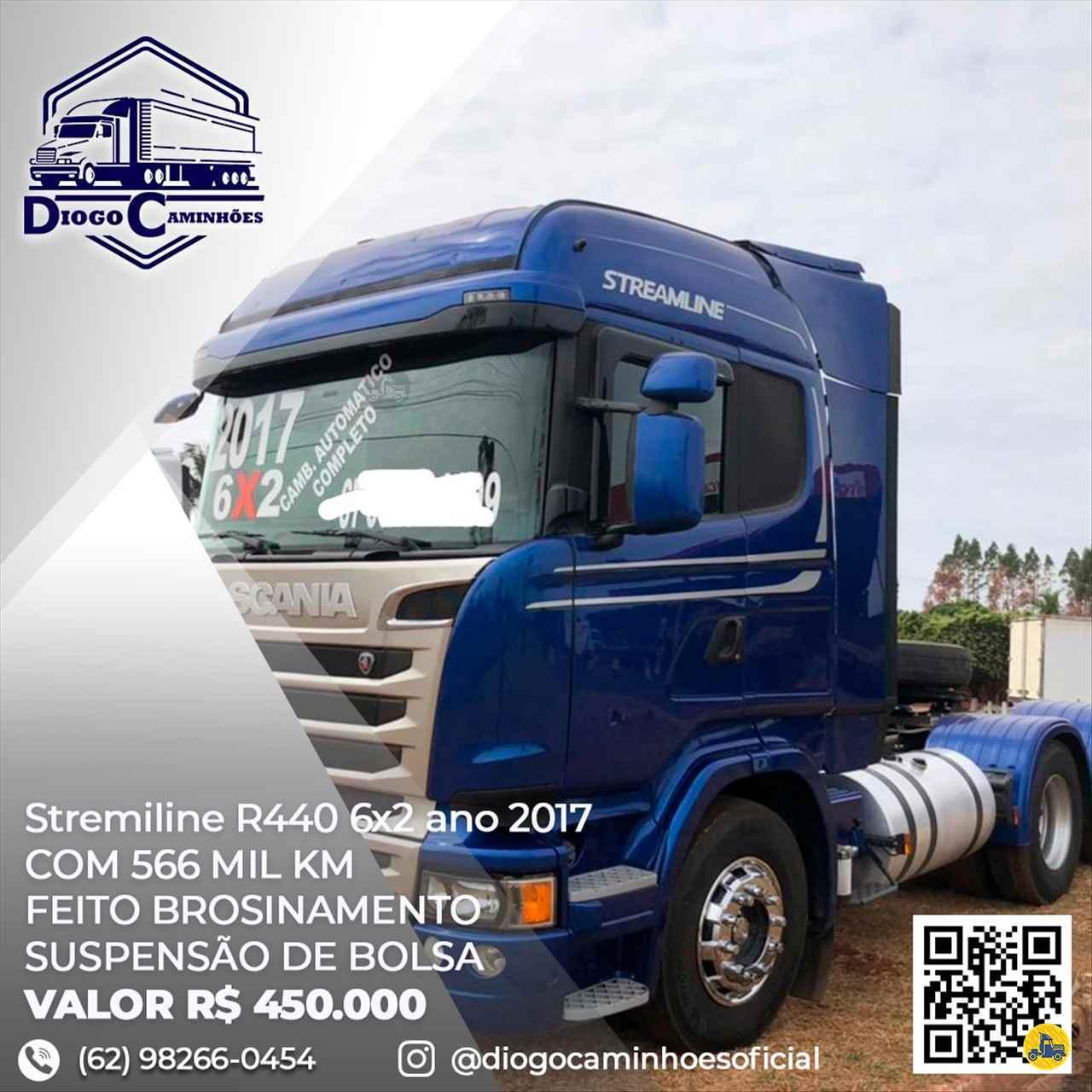 CAMINHAO SCANIA SCANIA 440 Cavalo Mecânico Truck 6x2 Diogo Caminhões ANAPOLIS GOIAS GO