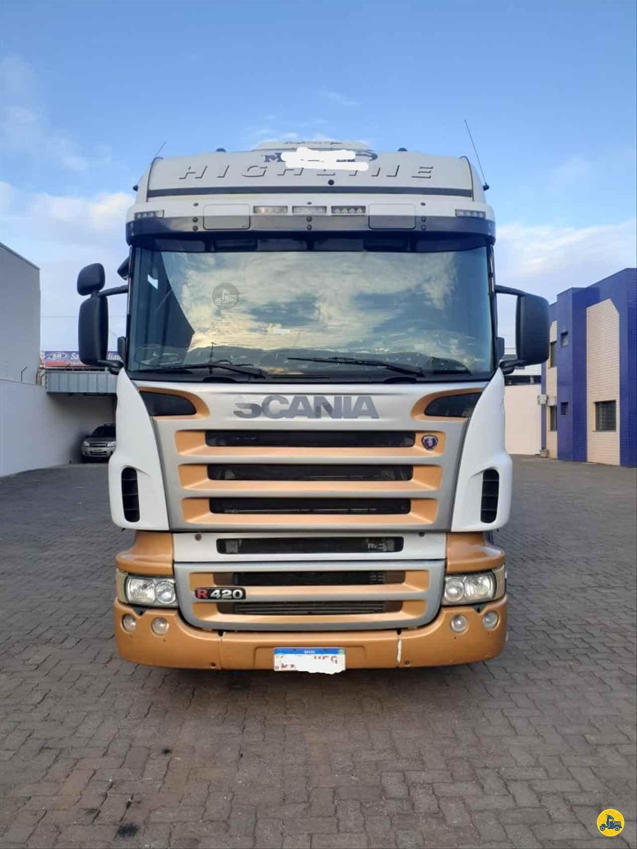 CAMINHAO SCANIA SCANIA 420 Cavalo Mecânico Truck 6x2 Diogo Caminhões ANAPOLIS GOIAS GO