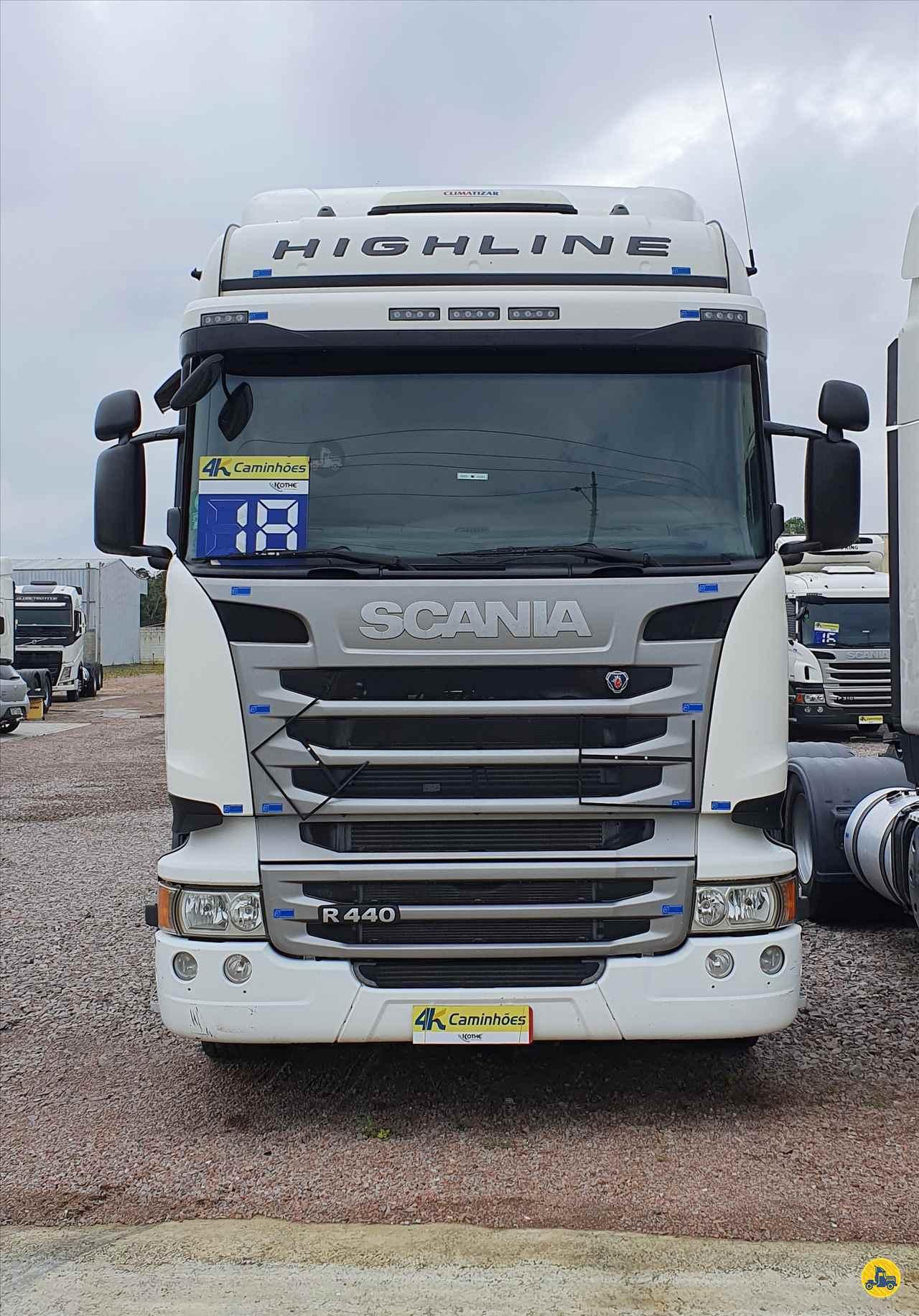 CAMINHAO SCANIA SCANIA 440 Cavalo Mecânico Truck 6x2 4K Caminhões - Itajaí ITAJAI SANTA CATARINA SC