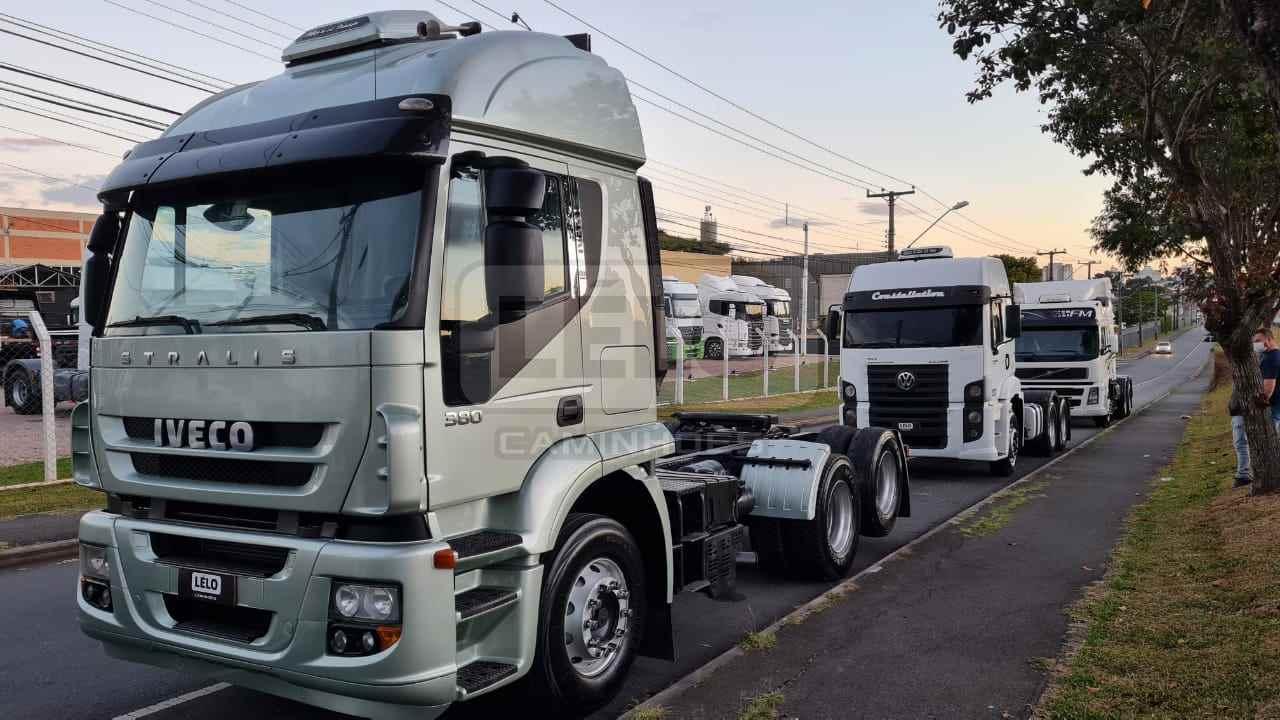 CAMINHAO IVECO STRALIS 380 Cavalo Mecânico Truck 6x2 Lelo Caminhões CURITIBA PARANÁ PR