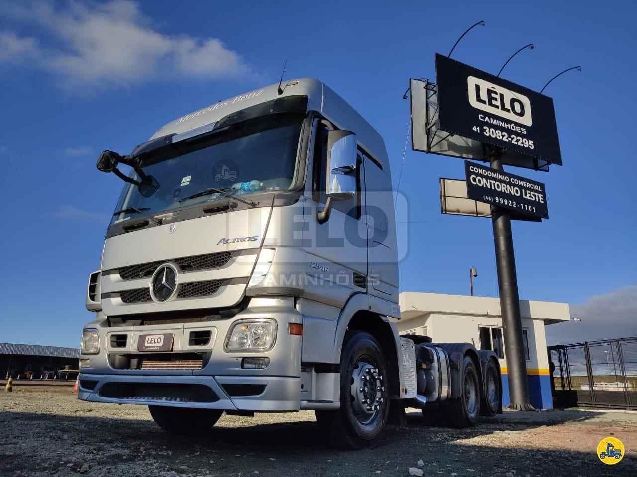 CAMINHAO MERCEDES-BENZ MB 2546 Cavalo Mecânico Truck 6x2 Lelo Caminhões CURITIBA PARANÁ PR