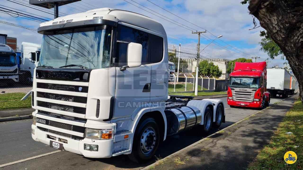 CAMINHAO SCANIA SCANIA 124 420 Cavalo Mecânico Truck 6x2 Lelo Caminhões CURITIBA PARANÁ PR