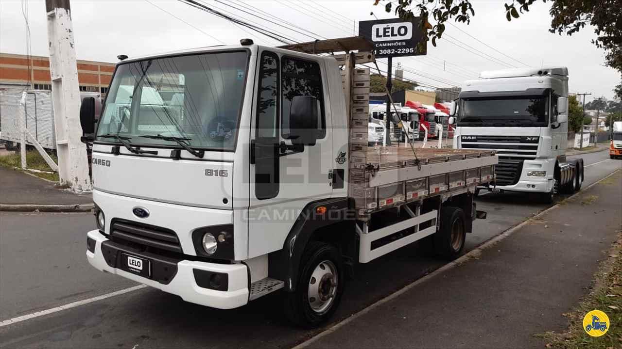 CAMINHAO FORD CARGO 816 Cavalo Mecânico Toco 4x2 Lelo Caminhões CURITIBA PARANÁ PR
