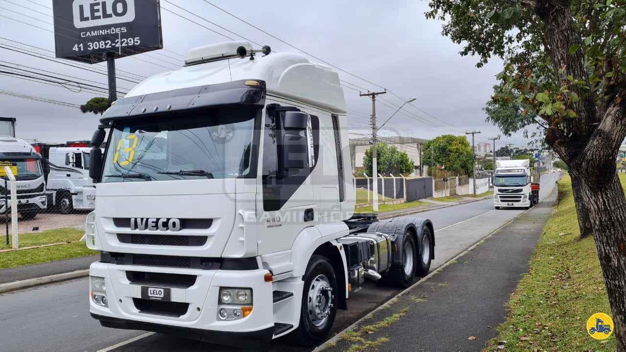 CAMINHAO IVECO STRALIS 440 Cavalo Mecânico Truck 6x2 Lelo Caminhões CURITIBA PARANÁ PR