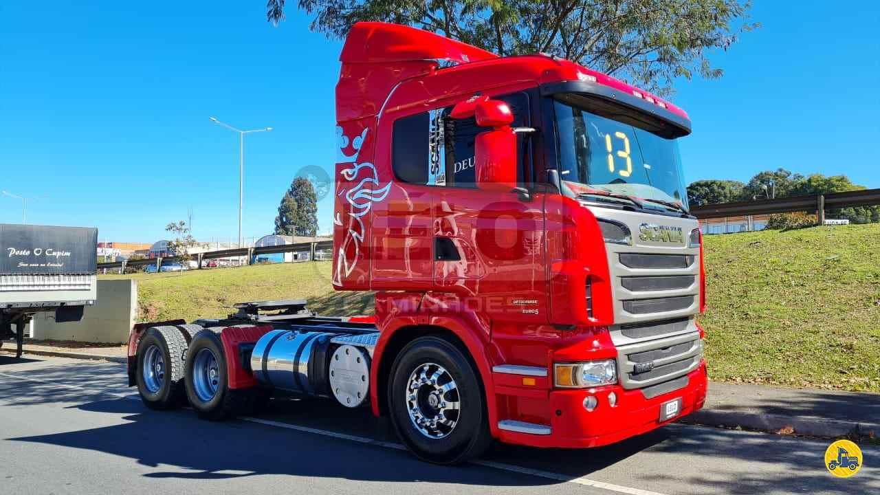 CAMINHAO SCANIA SCANIA 440 Cavalo Mecânico Traçado 6x4 Lelo Caminhões CURITIBA PARANÁ PR